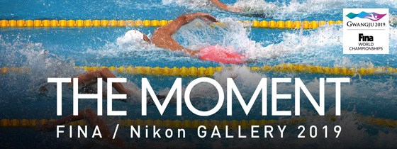 FINA/Nikon GALLERY 2019 –THE MOMENT–