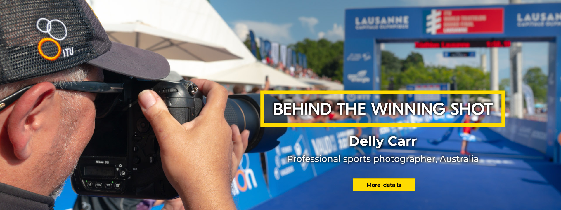 Behind the Winning Shot | Delly Carr