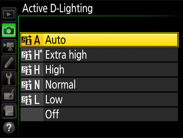 Use Active Du2011Lighting to preserve details in highlights and shadows when photographing high-contrast scenes for ex&le when shooting through a window or ...  sc 1 st  Nikon Professional Services & D500 TIPS - Preserving Natural Contrast | Technical Solutions ... azcodes.com