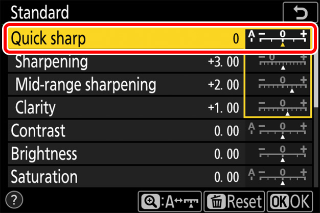 Z7/Z6 TIPS - Sharpening and Softening Images | Technical Solutions