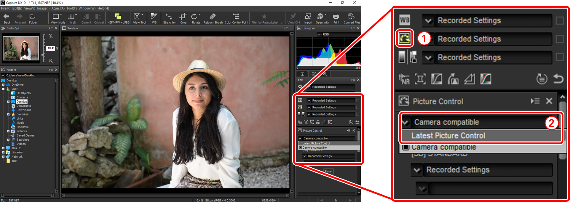 Z7/Z6 TIPS - Sharpening and Softening Images | Technical